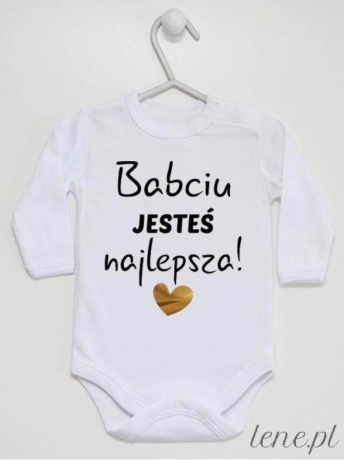 Body niemowlęce Babciu Jesteś Najlepsza