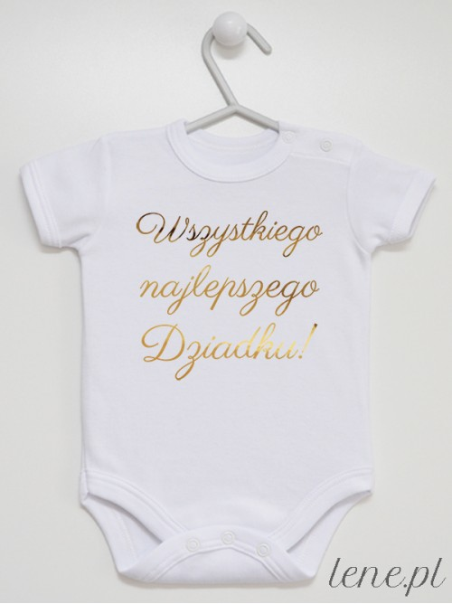 Body niemowlęce Wszystkiego Najlepszego Dziadku