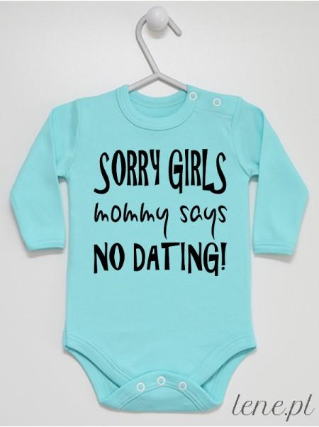 Sorry Girls - body niemowlęce