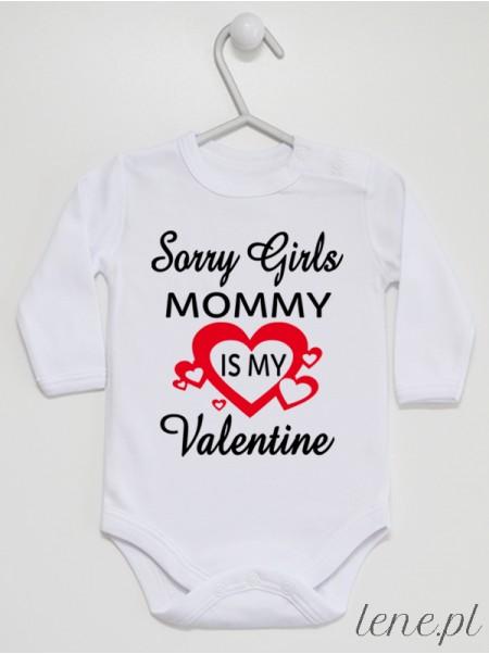 Mommy Is My Valentine - body niemowlęce