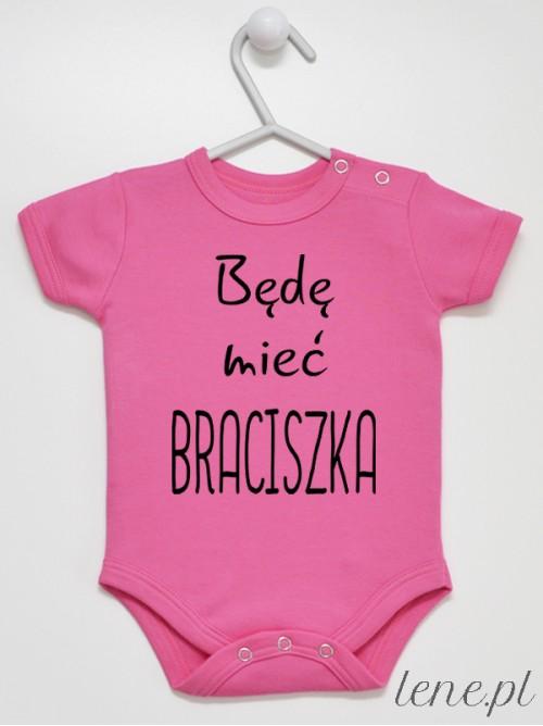 Body niemowlęce Będę Mieć Braciszka