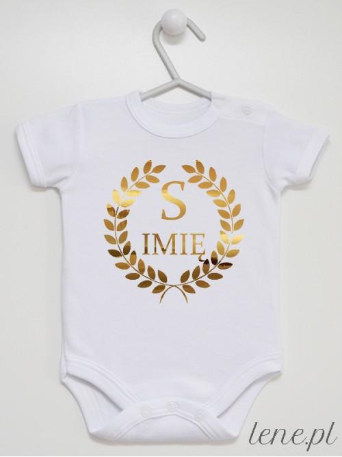 Body niemowlęce Z Imieniem Inicjał