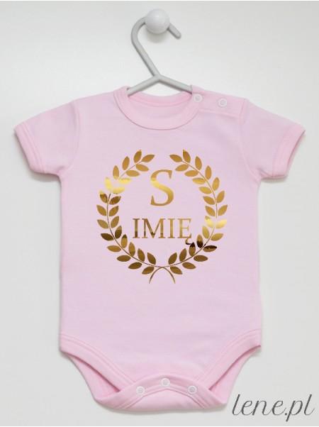 Inicjał Z Imieniem - body niemowlęce