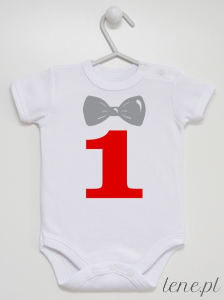 Roczek Muszka 01 - body niemowlęce