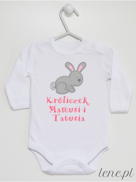 Króliczek Mamusi I Tatusia - body niemowlęce