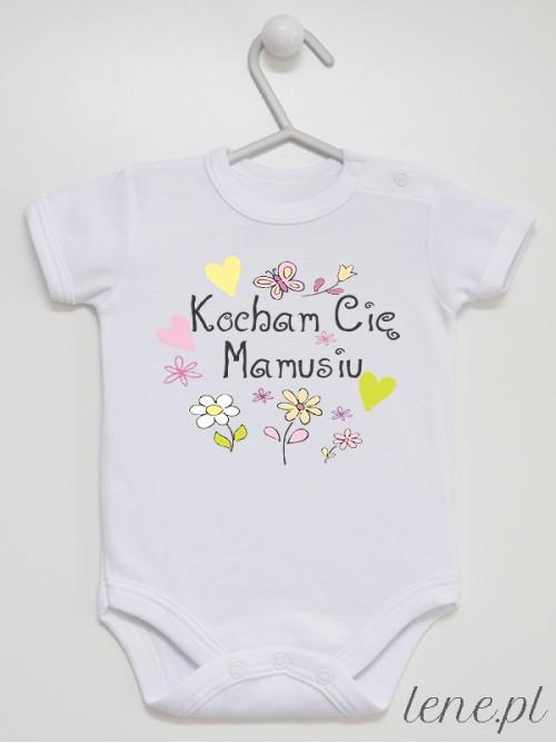 Body niemowlęce Kocham Cię Mamusiu - Kwiatuszki