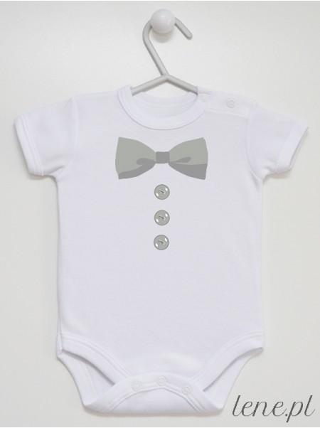 Muszka Z Guziczkami 04 - body niemowlęce