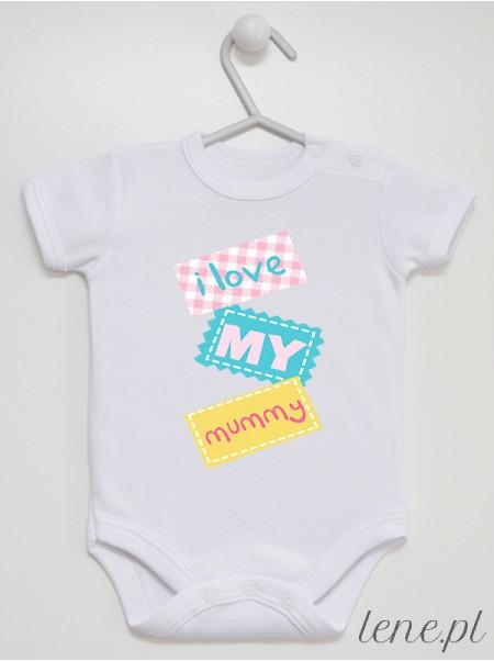 Love My Mummy - body niemowlęce