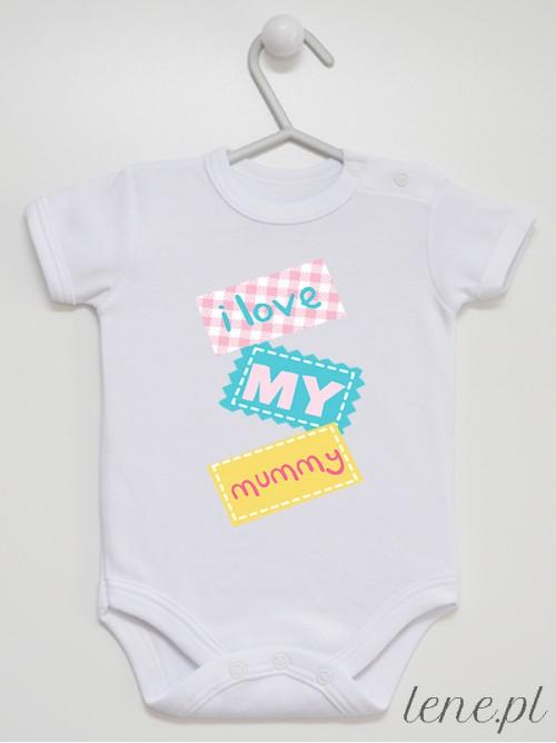 Body niemowlęce Love My Mummy