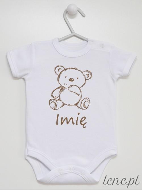 Body niemowlęce Zoo Miś + Imię