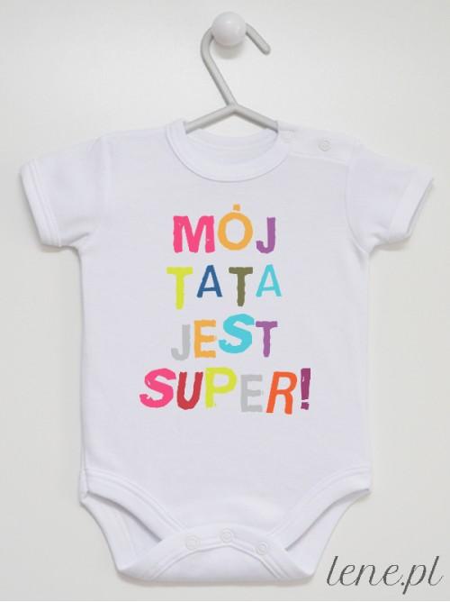 Body niemowlęce Mój Tata Jest Super