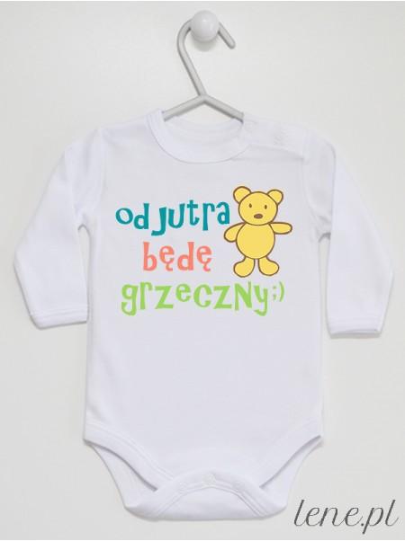 Od Jutra Będę Grzeczny ;) - body niemowlęce