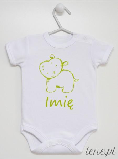 Hipopotam z Imieniem - body niemowlęce
