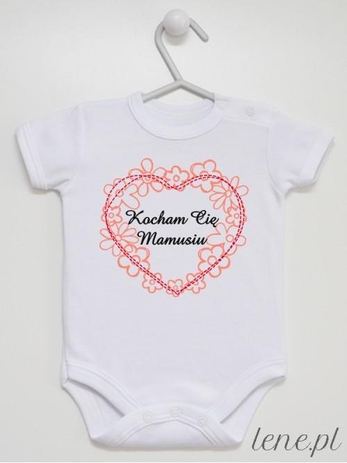 Body niemowlęce Kocham Cię Mamusiu 01