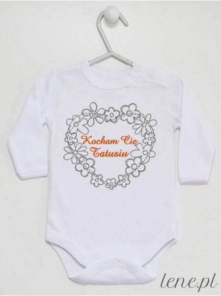 Kocham Cię Tatusiu 01 - body niemowlęce