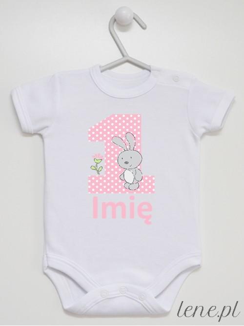 Body niemowlęce 1 Urodziny + Imię 02