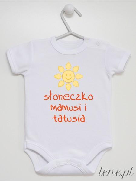 Słoneczko Mamusi I Tatusia - body niemowlęce