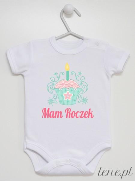 Ciasteczko - Mam Roczek! - body niemowlęce
