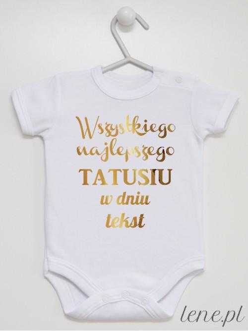Body niemowlęce Życzenia Dla Taty Z Tekstem
