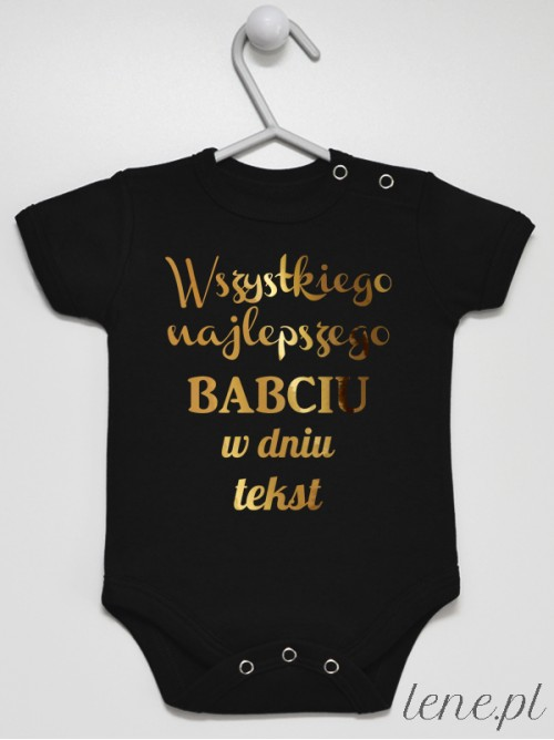 Body niemowlęce Życzenia Dla Babci Z Tekstem