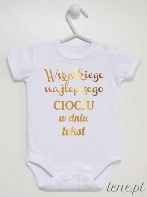 Body niemowlęce Życzenia Dla Cioci Z Tekstem