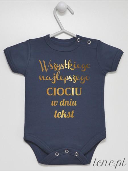 Życzenia Dla Cioci Z Tekstem - body niemowlęce
