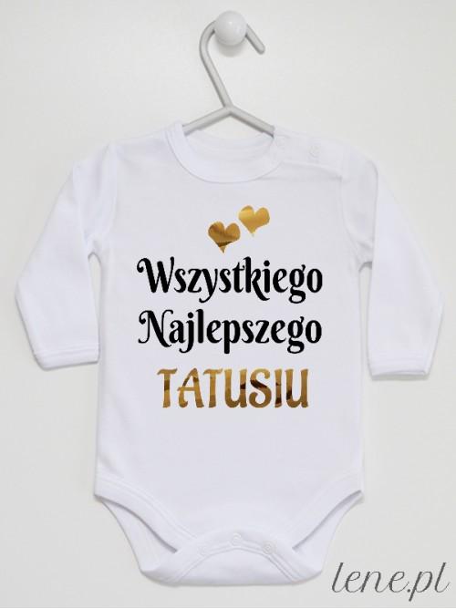 Body niemowlęce Wszystkiego Najlepszego Tatusiu Serduszka