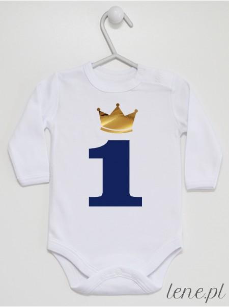 Jedynka w Złotej Koronie - body niemowlęce
