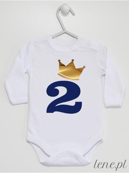 Dwójka w Złotej Koronie - body niemowlęce