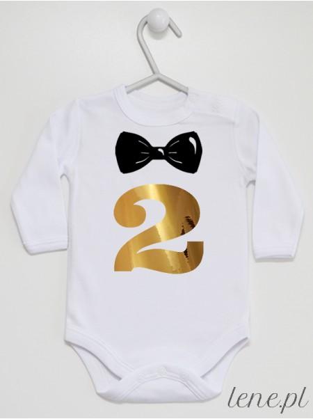 Dwójka Z Muszką - body niemowlęce
