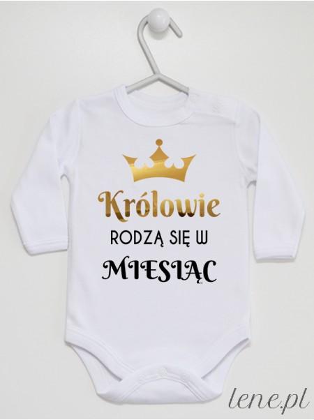Królowie Rodzą Się W Miesiącu - body niemowlęce
