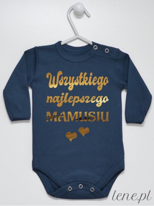 Body niemowlęce Wszystkiego Najlepszego Mamusiu Złoty