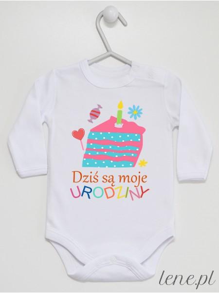 Moje Urodziny - body niemowlęce