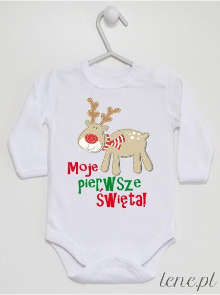 Moje Pierwsze Święta 01 - body niemowlęce