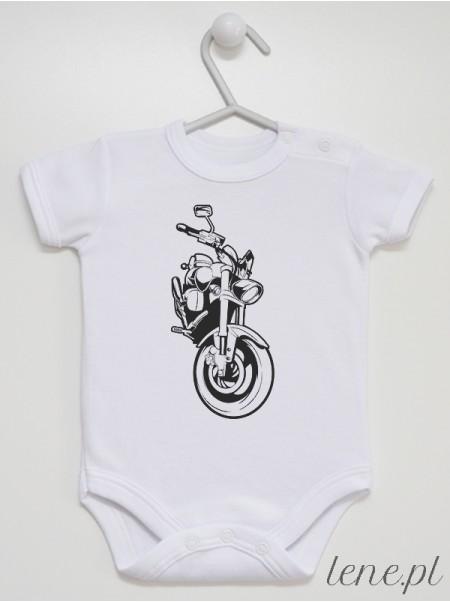 Vintage Motocykl  - body niemowlęce