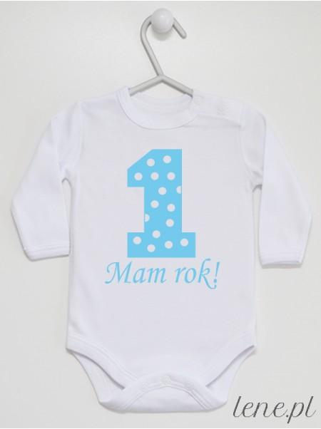 Jedynka W Groszki 04 - body niemowlęce