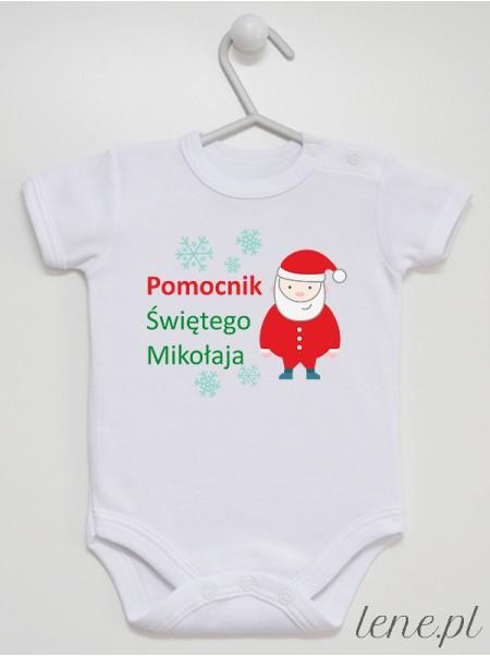 Pomocnik Świętego Mikołaja - body niemowlęce