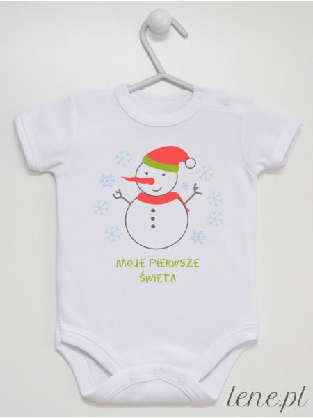 Moje Pierwsze Święta 02 - body niemowlęce