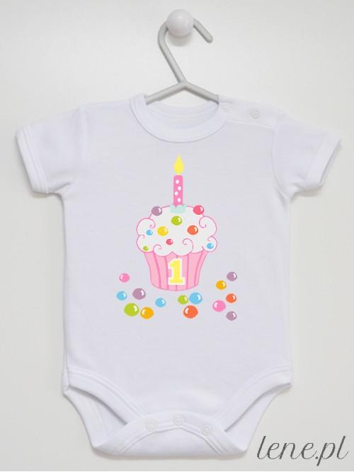 Body niemowlęce Cukierkowa Muffinka 03