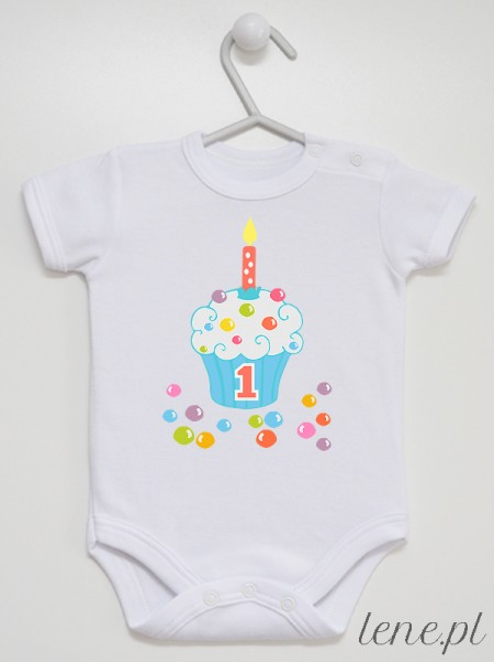 Cukierkowa Muffinka 04 - body niemowlęce