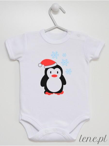 Zimowy Pingwinek - body niemowlęce