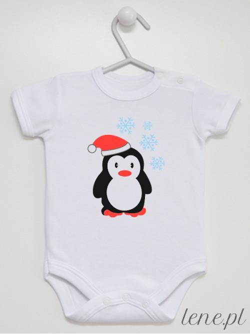 Body niemowlęce  Zimowy Pingwinek