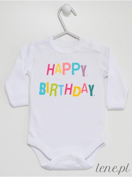 Happy Birthday - body niemowlęce