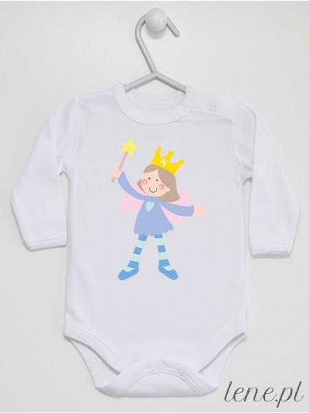 Księżniczka 03 - body niemowlęce