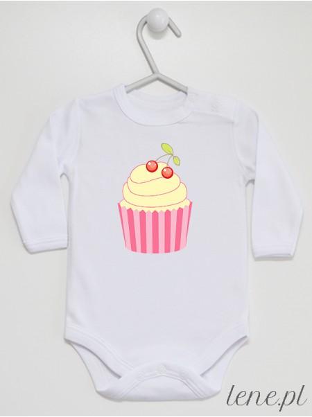 Waniliowa Muffinka 01 - body niemowlęce