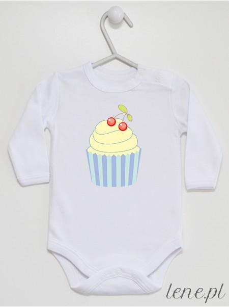 Waniliowa Muffinka 02 - body niemowlęce