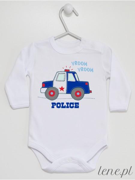 Autko Police - body niemowlęce