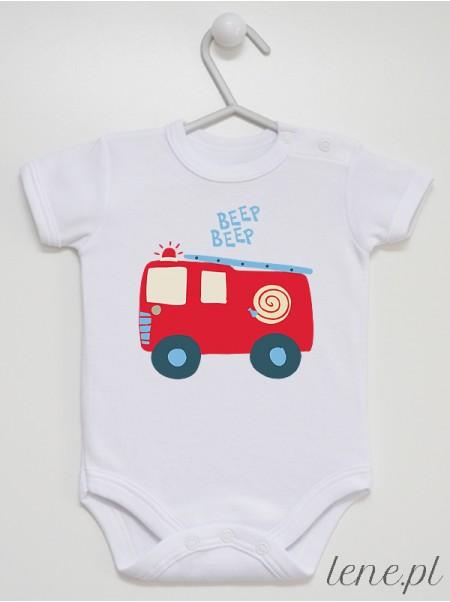 Autko Strażackie - body niemowlęce