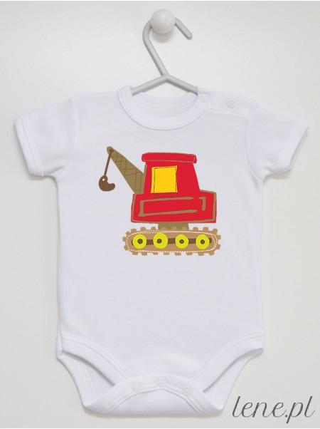 Koparka - body niemowlęce
