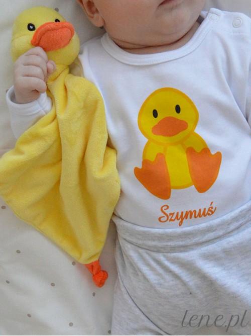 Body niemowlęce Kaczorek + Imię